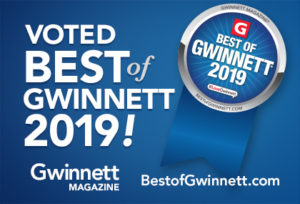 Voted Best of Gwinnett 2019