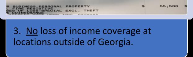 loss of income coverage
