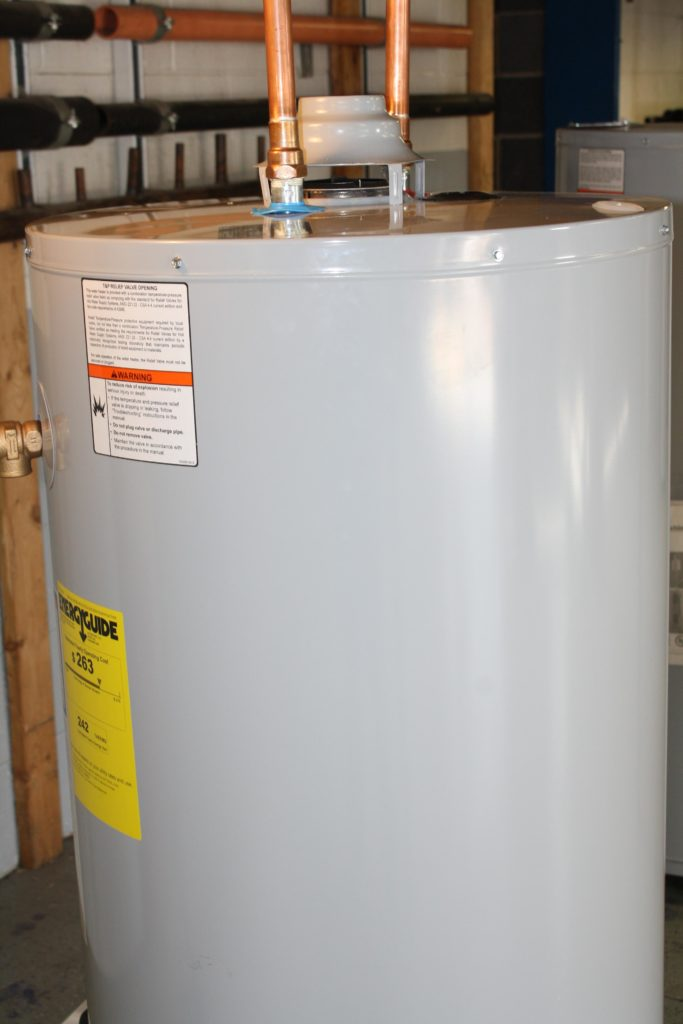 avoid water damage caused by a water heater leak